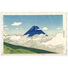 Okumura Koichi: Mount Fuji from Nirasaka - Artelino