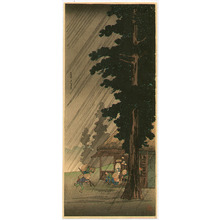 高橋弘明: Sudden Shower at Takaido - Artelino