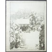吉田博: Snow in Nakazato - Artelino
