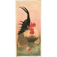 小原古邨: Bantam Chickens - Artelino