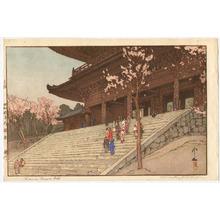 吉田博: Chion-in Temple (Jizuri) - Artelino