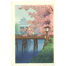 Ito Yuhan: Cherry Blossoms and Castle - Artelino