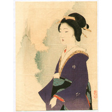 Takeuchi Keishu: Lady in Purple - Artelino