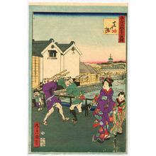 Ikkei: Shiba Bridge - Thirty-six Places in Tokyo - Artelino