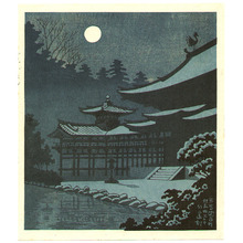 Fujishima Takeji: The Moonlight at Byodo-in - Artelino