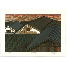 Nishijima Katsuyuki: Roofs at Shimotsui Harbor - Artelino