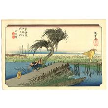 Utagawa Hiroshige: Yokkaichi - Fifty-three Stations of the Tokaido (Hoeido) - Artelino