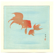 小原古邨: Two Goldfish - Artelino