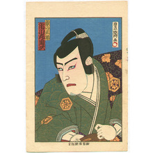 Utagawa Kunisada III: Ichikawa Sadanji - Kabuki - Artelino