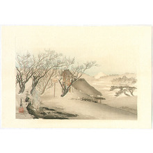 Ogata Gekko: Winter - One Hundred Views of Mt.Fuji - Artelino
