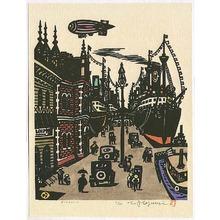 Asai Kiyoshi: Meriken Wharf - Artelino