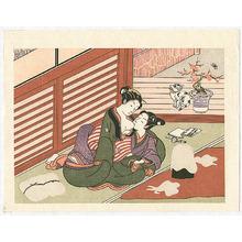 Suzuki Harunobu: Cotton Spinning - Artelino
