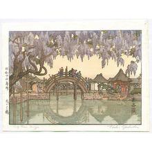 Yoshida Toshi: Half Moon Bridge - Artelino