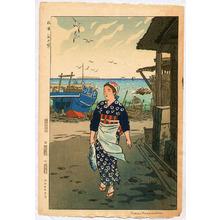 笠松紫浪: Girl on the Shore - Artelino