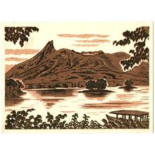 前田政雄: Ohnuma Lake and Mt. Komagatake - Artelino