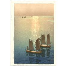 吉田博: Glittering Sea - Artelino