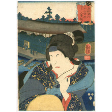 歌川国芳: Imado, Yaegiri - Thirty-six Restaurants - Artelino