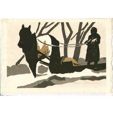 河野薫: Horse Sledge - Artelino
