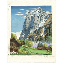 Morozumi Osamu: Near Grindelwald Village - Switzerland - Artelino