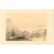 Ogata Gekko: Mt.Fuji at Dawn - One Hundred Fuji - Artelino