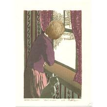 Brown Matt: April Window - Artelino