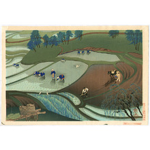 Ono Bakufu: Working in Rice Fields - Artelino