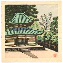 Maeda Masao: Temple Yard - Artelino