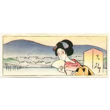 Takehisa Yumeji: Maiko in Kyoto - Artelino