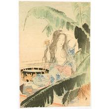 Mishima Shoso: Beauty and Banana Tree - Artelino