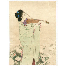 Kaburagi Kiyokata: Violin Player - Artelino