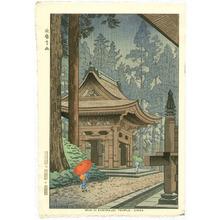 藤島武二: Rain in Enryaku-ji Temple - Artelino