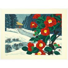 Hayashi Waichi: Camellia in Winter - Artelino
