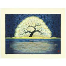 Hayashi Waichi: Tree at Lakeside - Artelino