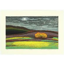 Hayashi Waichi: Field under the Full Moon - Artelino