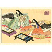 前田政雄: Picture Competition - The Tale of Genji - Artelino
