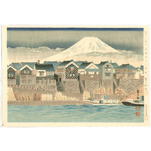 Tokuriki Tomikichiro: Mt. Fuji from Numazu - Thirty-six Views of Mt.Fuji - Artelino