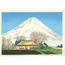 Tokuriki Tomikichiro: Mt. Fuji from Susono - Artelino