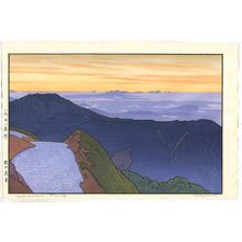 Yoshida Toshi: Tsubakurodake - Morning - Artelino