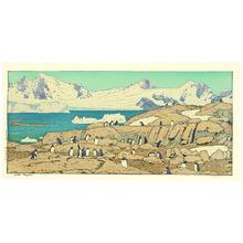 Yoshida Toshi: Gentoo Penguins - Artelino