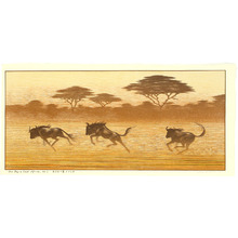 Yoshida Toshi: One Day in East Africa No. 7 - Artelino