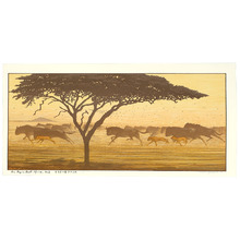Yoshida Toshi: One Day in East Africa No. 3 - Artelino