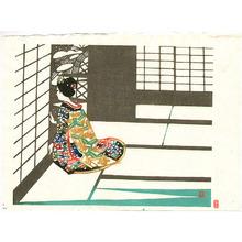 Inagaki Toshijiro: Maiko in a Living Room - Artelino