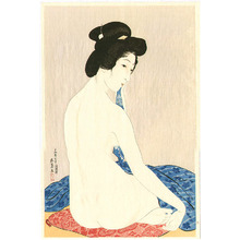 橋口五葉: Woman after a Bath - Artelino