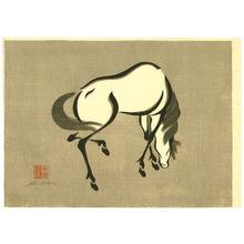 Urushibara Mokuchu: Horse - 1 - Artelino