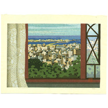 Maeda Masao: View of Port Island - Artelino