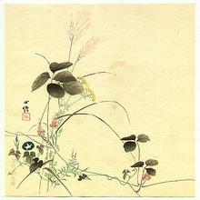 Hasegawa Konobu: Autumn Flowers - Artelino