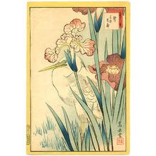 Nakayama Sugakudo: Heron and Iris - Artelino