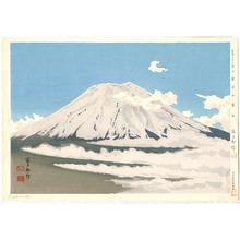 Tokuriki Tomikichiro: Mt. Fuji in the Clouds - Thirty-six Views of Mt. Fuji - Artelino