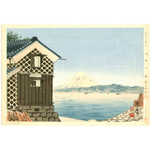 Tokuriki Tomikichiro: Mt Fuji from Izu - Thirty-six Views of Mt. Fuji - Artelino