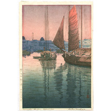 風光礼讃: Sunset at Tomonotsu, Inland Sea - Artelino